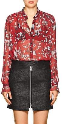 Rag & Bone Women's Susan Floral Silk Blouse