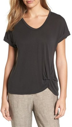 Women's Nic+Zoe Boardwalk V-Neck Jersey Tee $88 thestylecure.com