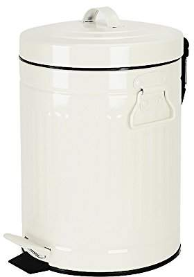 Bathroom Trash Can with Lid