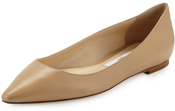 Jimmy ChooJimmy Choo Romy Leather Ballerina Flat