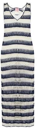 Anna Kosturova Bardot crochet maxi dress