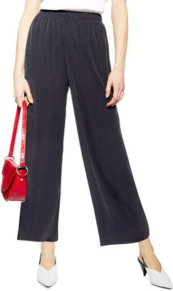 Topshop Cropped Wide Leg Pants