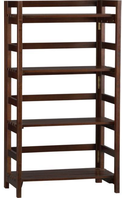 Four-Shelf Adjustable Bookcase