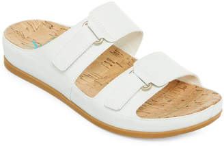 Yuu Womens America Slide Sandals