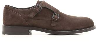 Tod's Suede Classic Monk Straps