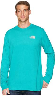 The North Face Long Sleeve Red Box Tee Men's Long Sleeve Pullover
