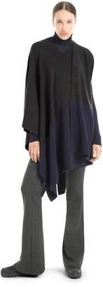 Max Studio merino wool knitted poncho