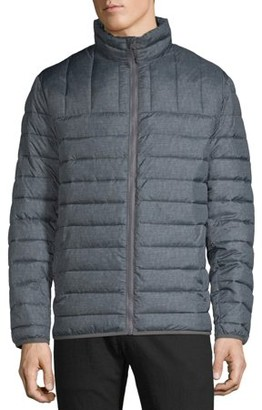 Swiss Tech Men's and Big Men's Puffer Jacket, up to Size 5XL