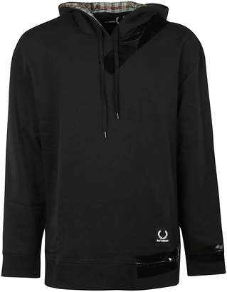 Fred Perry Plaid Lined Hoodie