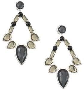 Ippolita Sterling Silver Rock Candy® Large Multi-Stone Open Teardrop Earrings
