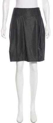 Gunex Wool & Silk-Blend Skirt
