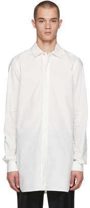 Rick Owens Off-White Office Shirt