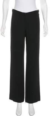 Chanel Mid-Rise Wide-Leg Pants