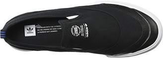 adidas Matchcourt Slip Shoe - Men's Core Black/FTWR White/Gum4, 11.5