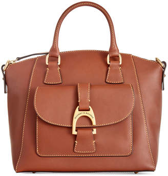 Dooney & Bourke Emerson Naomi Small Smooth Leather Satchel