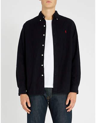 Polo Ralph Lauren Button down brushed-cotton shirt