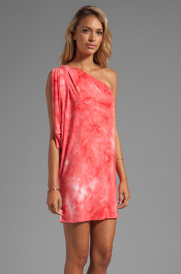 T-Bags LosAngeles One Shoulder Mini Dress