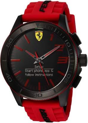 Ferrari Men's 830376 Analog-Digital Display Quartz Red Watch