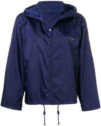 Prada hooded waterproof jacket