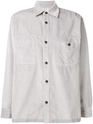 Acne Studios loose fit corduroy shirt