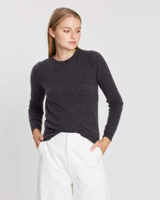 American Vintage Pullover Melange Round Collar Jumper