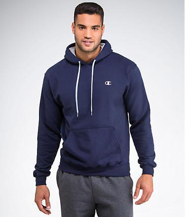 Champion Eco Fleece Pullover Hoodie Sweatshirt