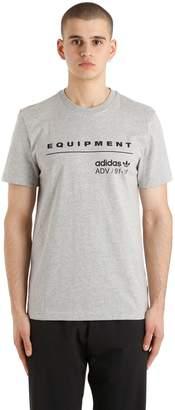 adidas Eqt Logo Cotton Jersey T-Shirt