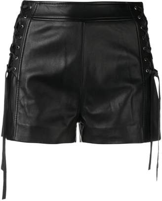 Just Cavalli lace-up shorts
