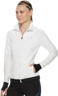 Fila Sport Women's SPORT Mesh Piecing Thumb Hole Jacket