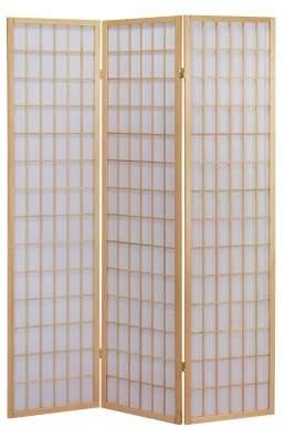 Acme 02285 Naomi 3-Panel Wooden Screen