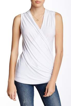 Loveappella Wrap Front Tank Top