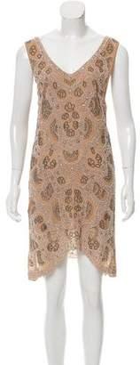Foley + Corinna Embellished Knee-Length Dress