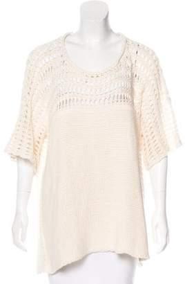 Calypso Oversize Open Knit Sweater