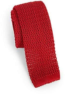 Charvet Men's Solid Silk Knit Tie