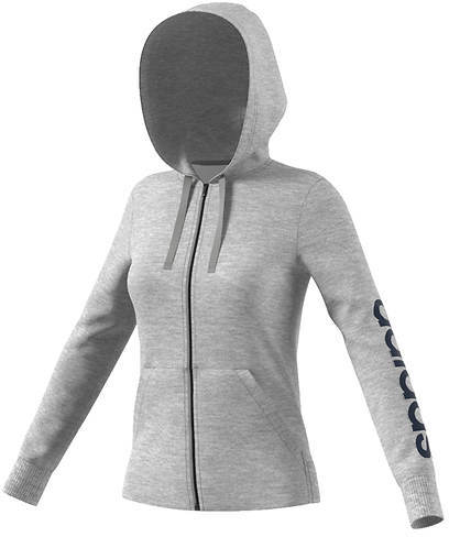 adidasadidas Women's Essentials Linear Full-Zip Hoodie