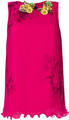 Antonio Marras floral sleeveless top