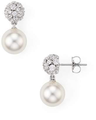 Nadri Mare Dangling Ball Earrings