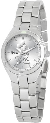 Disney Disney's Mickey Mouse Silhouette Women's Stainless Steel Watch