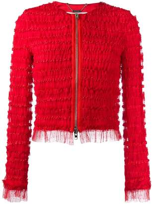 Givenchy ruffle embellished jacket