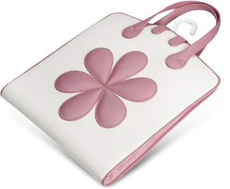 Pineider Pink Flower Baby Garment Bag
