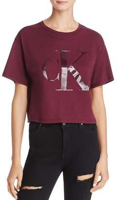 Calvin Klein Jeans Cropped Logo Tee