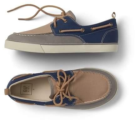 Colorblock Boat Shoes