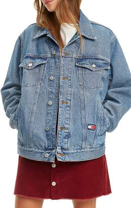 Tommy Jeans Crest Capsule Denim Trucker Jacket