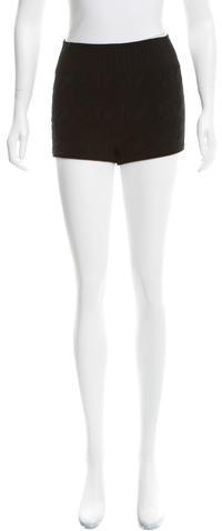 Alexander WangAlexander Wang Textured Mini Shorts