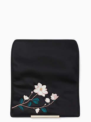 Kate Spade Make it mine embroidered magnolia flap