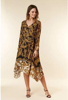 Wallis Petite Baroque Dress - Multi