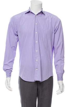 Barneys New York Barney's New York Gingham Dress Shirt
