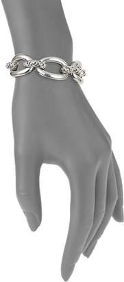 Charles Krypell 14K White Gold & Sterling Silver Bracelet