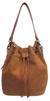 Chinese Laundry Ally Suede Bucket Crossbody Bag