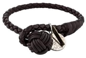 Bottega Veneta Leather Intrecciato Nappa Bracelet